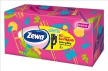 Салфетки бумажные косметические Zewa Everyday 2 слоя 150 шт
