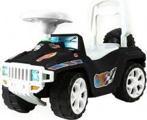 Машина-каталка Ориончик, черный
