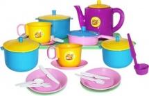 Набор посуды Пластмастер Обед 21 предмет
