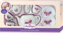 Набор фарфоровой посуды Mary Poppins Бабочка 9 предметов