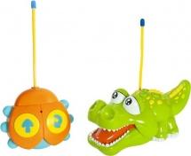 Радиоуправляемая игрушка Жирафики Крокодильчик, световые и звуковые эффекты