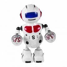 Робот-танцор с проектором, световые и звуковые эффекты