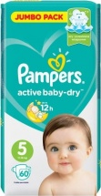 Подгузники Pampers Active Baby 5 (11-16 кг) 60 шт