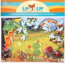 Веселые липучки Lip-Lip LIP Насекомые с игровым полем