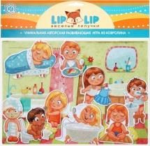 Веселые липучки Lip-Lip LIP Начало дня с игровым полем