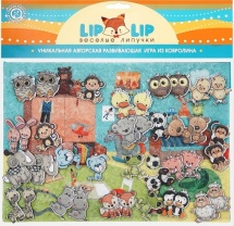 Веселые липучки Lip-Lip LIP Комната с игрушками с игровым полем