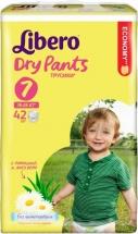 Трусики Libero Dry Pants 7 (16-26 кг) 42 шт