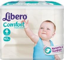 Подгузники Libero Comfort 4 (7-14 кг) 40 шт