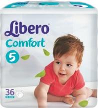 Подгузники Libero Comfort 5 (10-16 кг) 36 шт