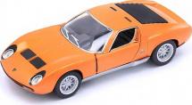 Машинка Kinsmart Lamborghini Miura P400 SV, оранжевый
