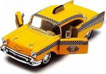 Машинка Kinsmart Chevrolet Bel Air Такси