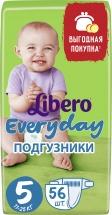 Подгузники Libero Everyday 5 (11-25 кг) 56 шт