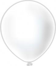 """Воздушный шарик 12""""/30см Пастель Белый 1 шт"""