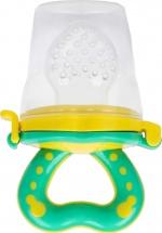 Ниблер Mum&Baby Basic силиконовый, зелёный