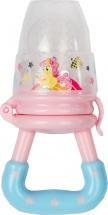 Ниблер Mum&Baby Пони силиконовый, розовый/голубой