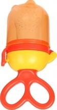 Ниблер Mum&Baby силиконовый, оранжевый
