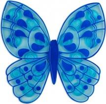 Мини-коврик Valiant Бабочка, синий