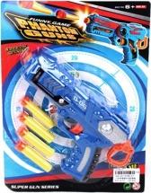 Бластер Phantomgun с мягкими пулями на присосках, синий