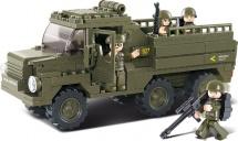 Конструктор Sluban Армия. Военный грузовик 230 деталей