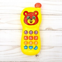 Телефон Забияка Забавный мишка