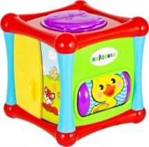 Развивающая игрушка Жирафики Кубик