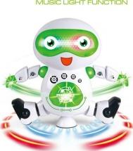 Робот электрический, световые и звуковые эффекты