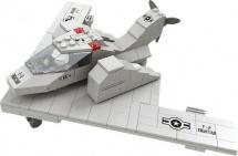 Конструктор Ausini Военный Самолет 229 деталей