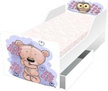 Кровать Классика с ящиками Мишка-малышка