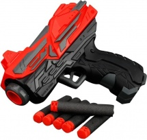 Бластер-мини с мягкими пулями 6 шт