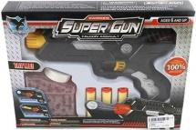 Бластер Super Gun с мягкими и гелевыми пулями