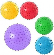 Массажный мячик Наша игрушка 18 см, микс