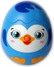 Музыкальная игрушка Азбукварик Яйцо-сюрприз Пингвинчик