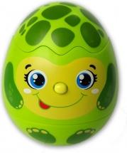 Музыкальная игрушка Азбукварик Яйцо-сюрприз Черепашка