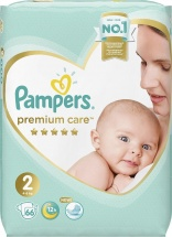 Подгузники Pampers Premium Care 2 (4-8 кг) 66 шт