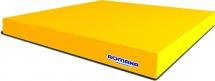 Мат Romana kid 100х100х6 см, желтый