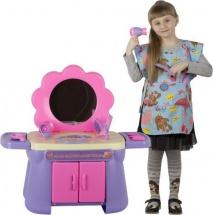 Туалетный столик Совтехстром Моя парикмахерская с костюмом парикмахера 17 предметов