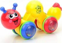 Инерционная игрушка Mioshi Гусеничка