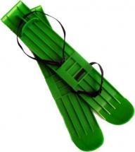 Мини-лыжи ПК Алмаз, зеленый