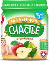 Пюре Маленькое счастье Груша-Яблоко с 5 мес 90 г