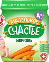 Пюре Маленькое счастье Морковь с 4 мес 90 г