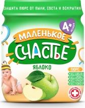 Пюре Маленькое счастье Яблоко с 4 мес 90 г