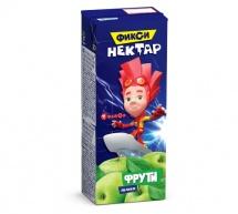 Нектар Маленькое счастье Фрути Фиксики Яблоко с 4 мес 200 мл