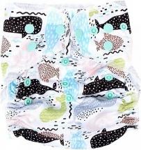 Многоразовый подгузник GlorYes для плавания Limited (3-18 кг) киты
