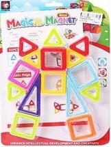 Магнитный конструктор Magical Magnet 15 деталей
