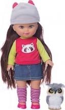 Кукла Mary Poppins Мой милый пушистик Элиза с совенком, 26см