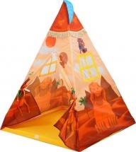 Палатка игровая Сокровища фараонов с фонариком, 100х100х130 см
