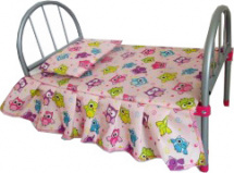 Кроватка для куклы Buggy Boom Loona 46х7х32 см