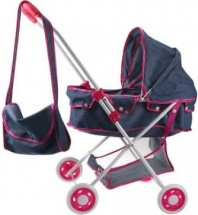 Коляска для кукол S+S Toys, фиолетовый