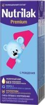 Молочная готовая смесь Нутрилак Премиум №1 с рождения 200 мл