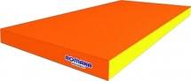 Мат Romana kid 100х50х6 см, оранжевый/желтый